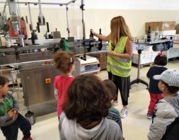 Επίσκεψη στην Βασίλισσα Αμαλία - Οινοποιείο